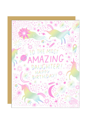 Amazing Daughter Card