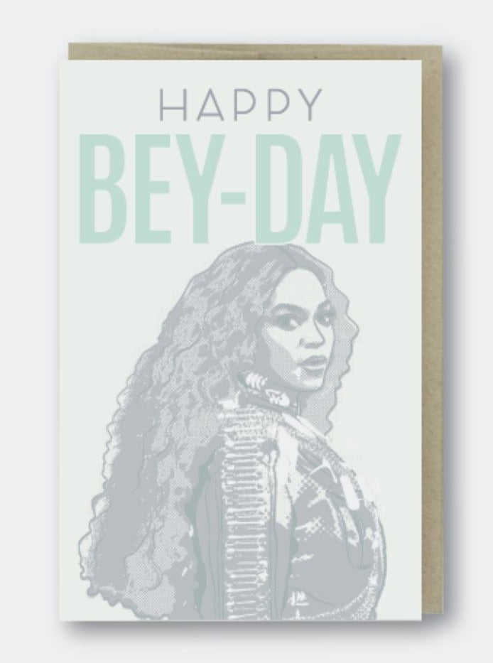 Happy Bey-Day Card