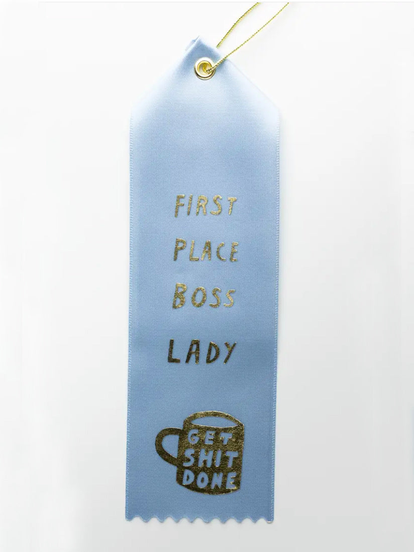 First Place Boss Lady Ribbon