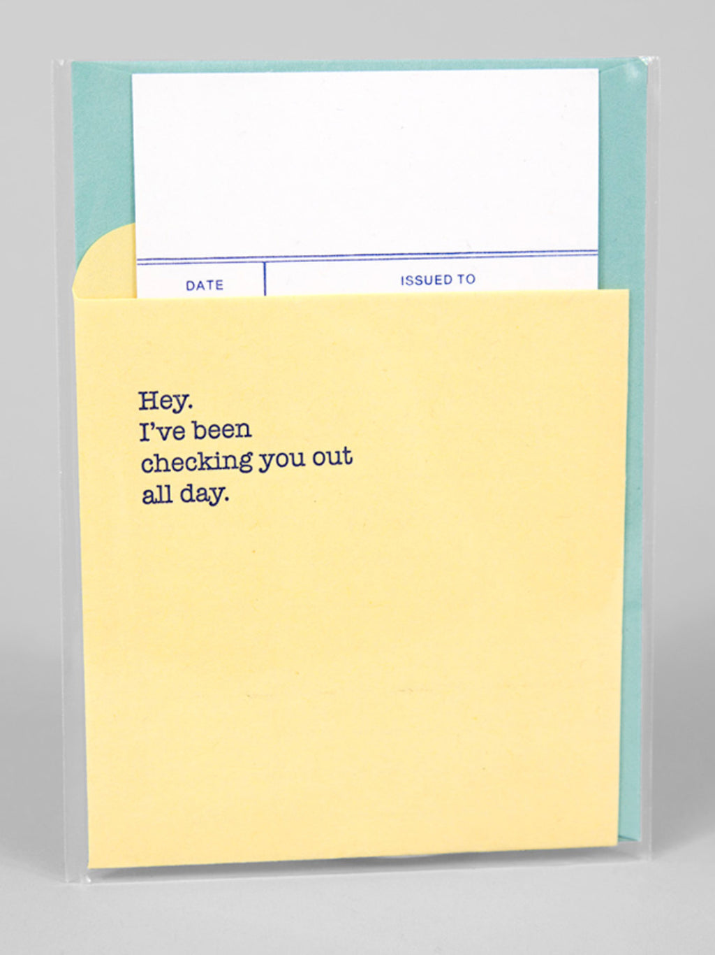 Checking You Out All Day Card