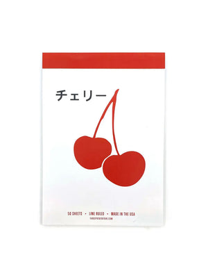 Cherry Notepad