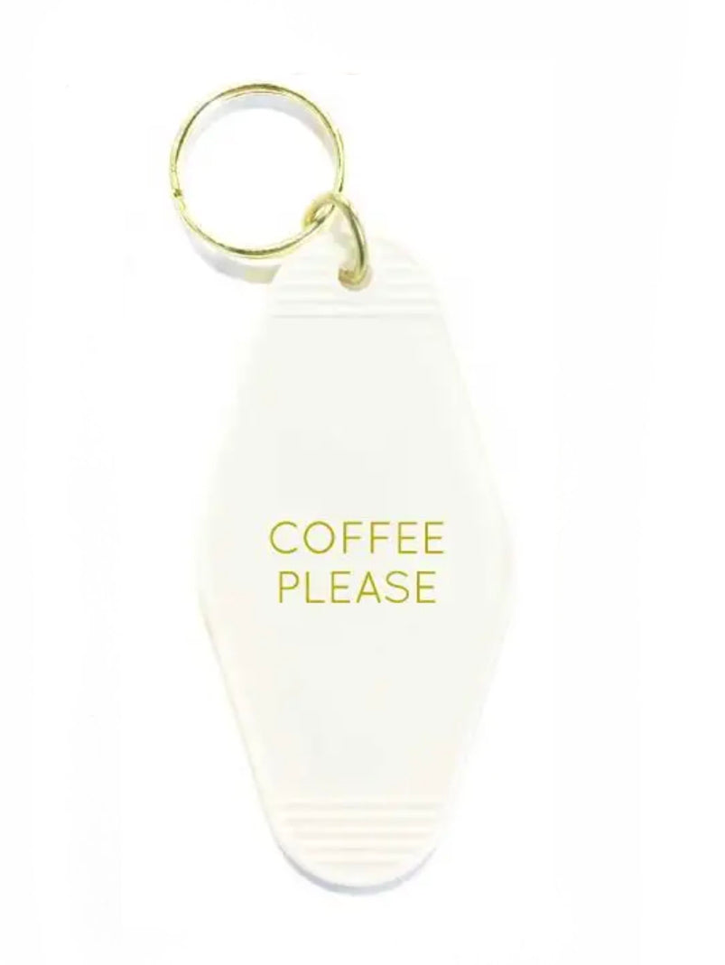 Coffee Please Keychain