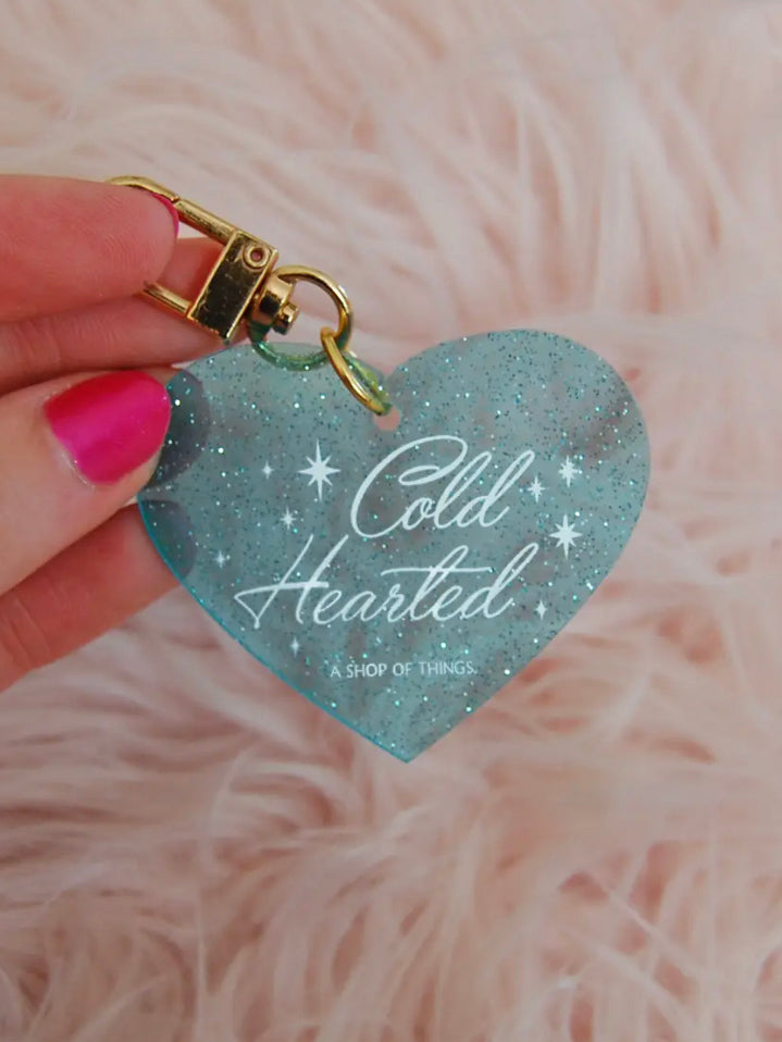 Cold Hearted Keychain