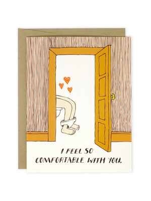 So Comfortable With You Card