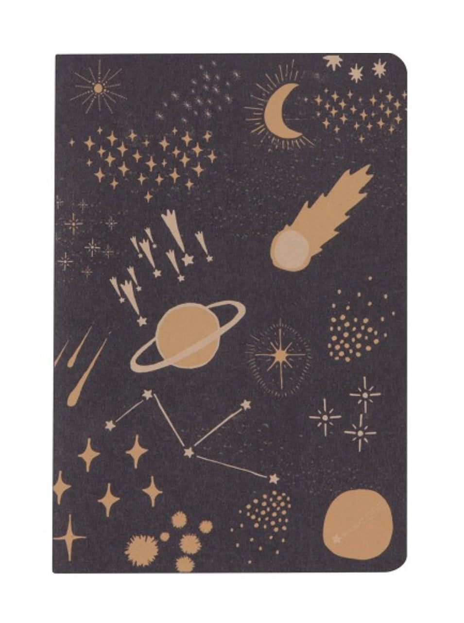 Cosmic Lay Flat Notebook (large)