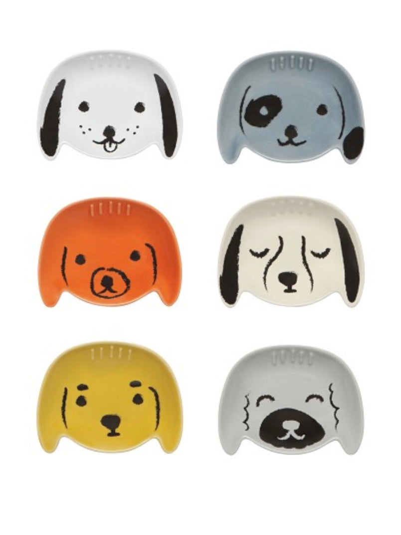 Dog Pinch Bowl Set