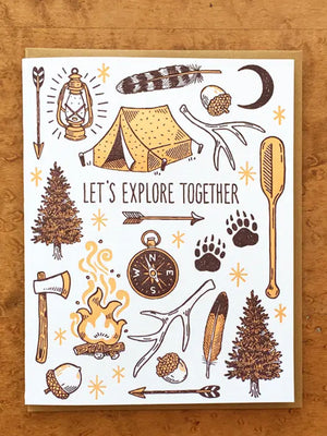 Let's Explore Together Card