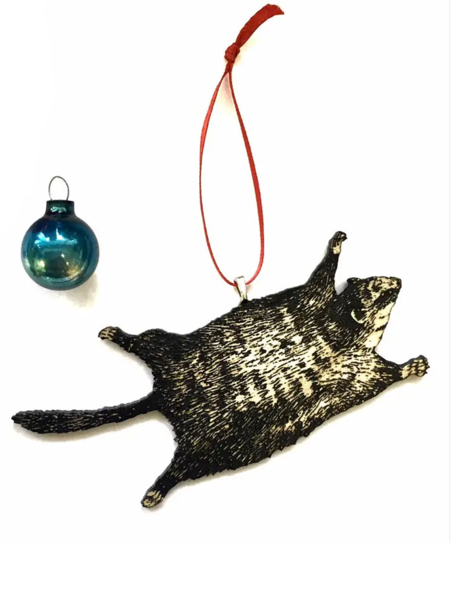 Flying Squirrel Ornament