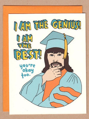 The Genius Lanny Poffo Card