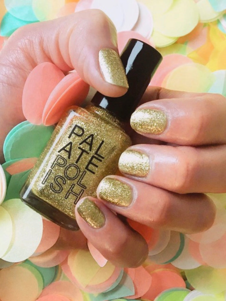 Gold Gumdrop Nail Polish