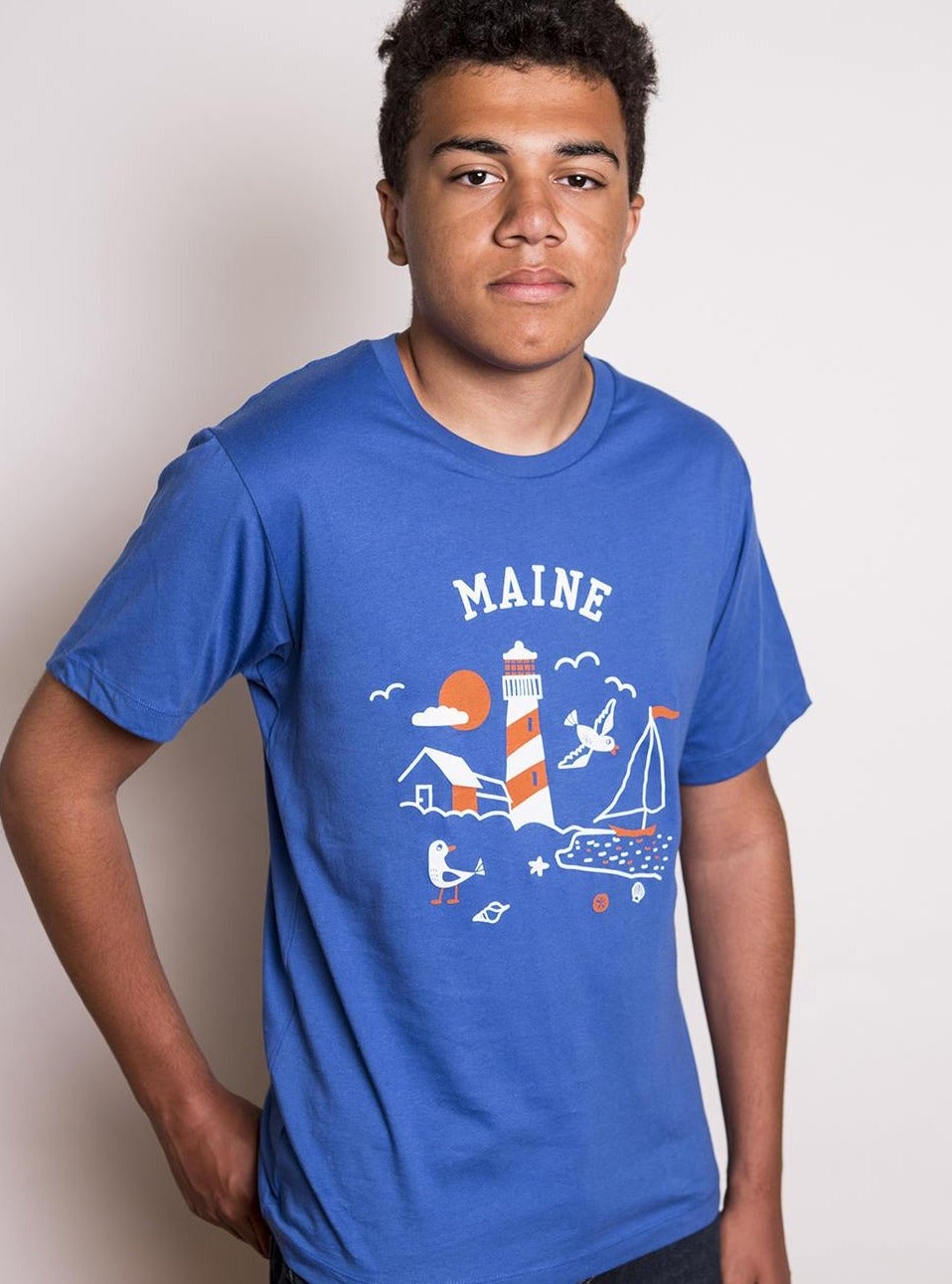 Men's Maine Lighthouse Tee