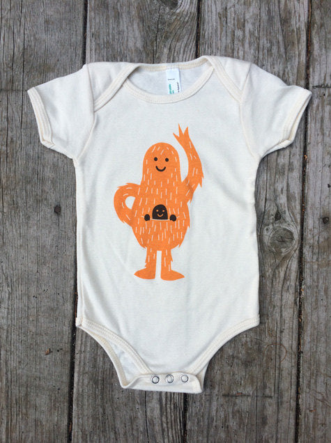 Organic Pouch Baby One Piece