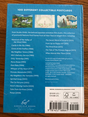 Studio Ghibli Postcard Box Set