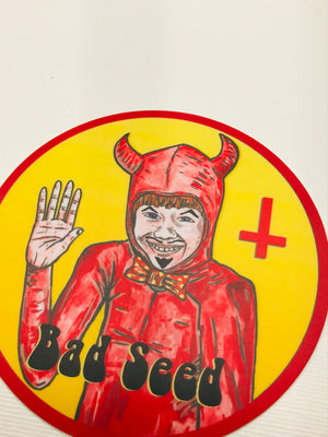 Bad Seed Sticker