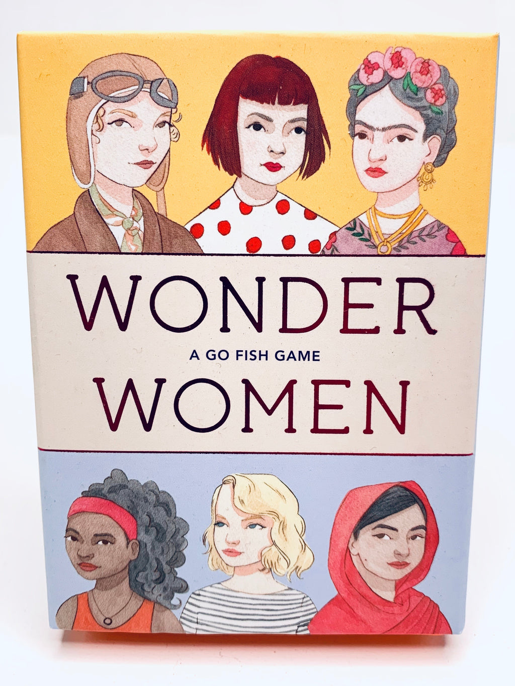 Wonder Women a Go Fish Game