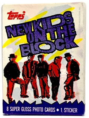 NKOTB Trading Card Pack