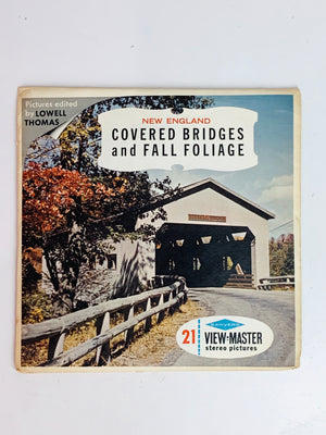 Covered Bridges and Fall Foliage Viewmaster Set