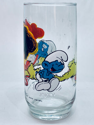 Smurfy Vintage Glass