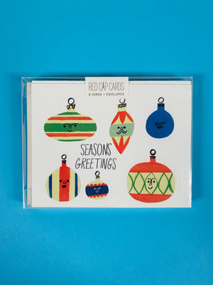 Bulbs Seasons Greetings Card Set