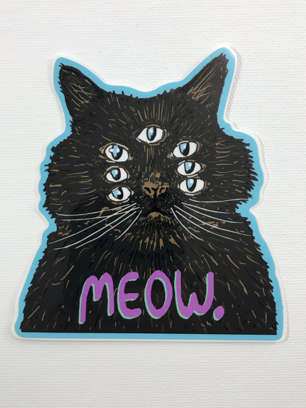 Meow Cat Sticker