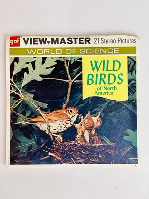 Wild Birds of North America Viewmaster Set