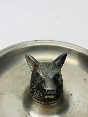 Vintage Wolf Ash Tray
