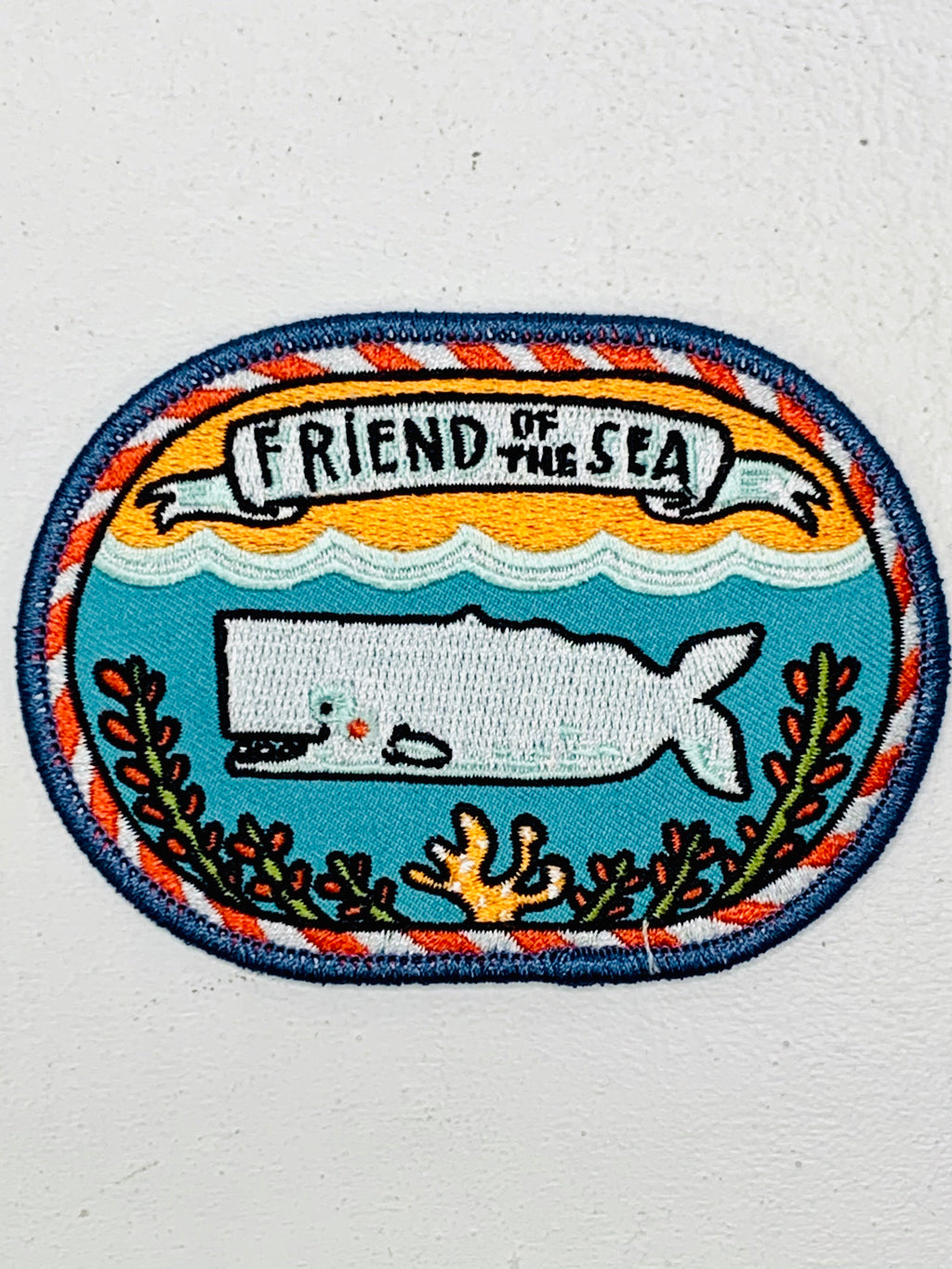 Friend of the Sea Embroidered Patch