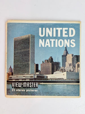 United Nations Viewmaster Set