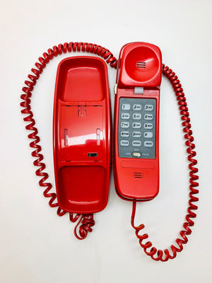 Vintage Red Phone (it WORKS!)