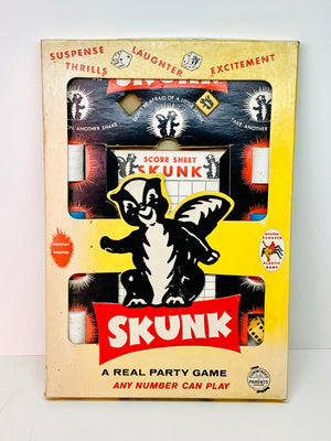 Skunk. A Real Party Game