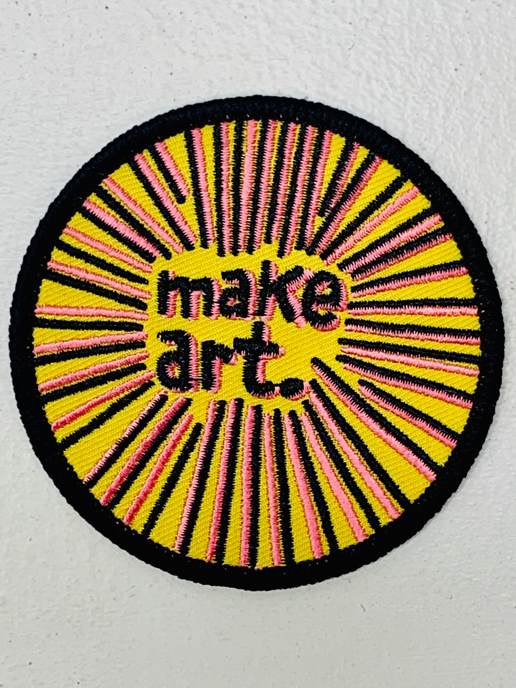 Make Art Embroidered Patch