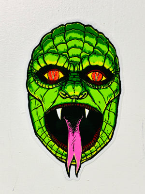 Reptilian Sticker