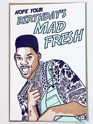 Mad Fresh! Card