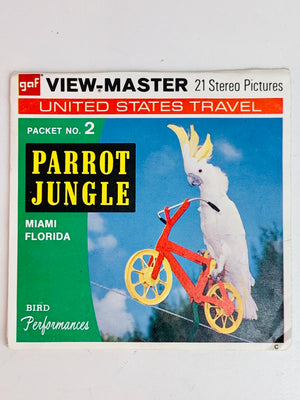 Parrot Jungle 2 Viewmaster Set