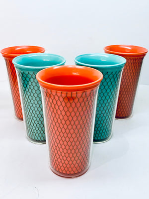 Set of 5 Picnic Tumblers