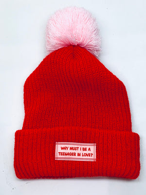 Teenager In Love Beanie