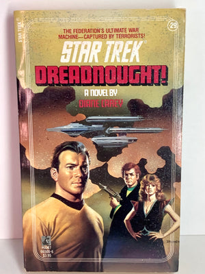 """Dreadnought!"" Star Trek Paperback"