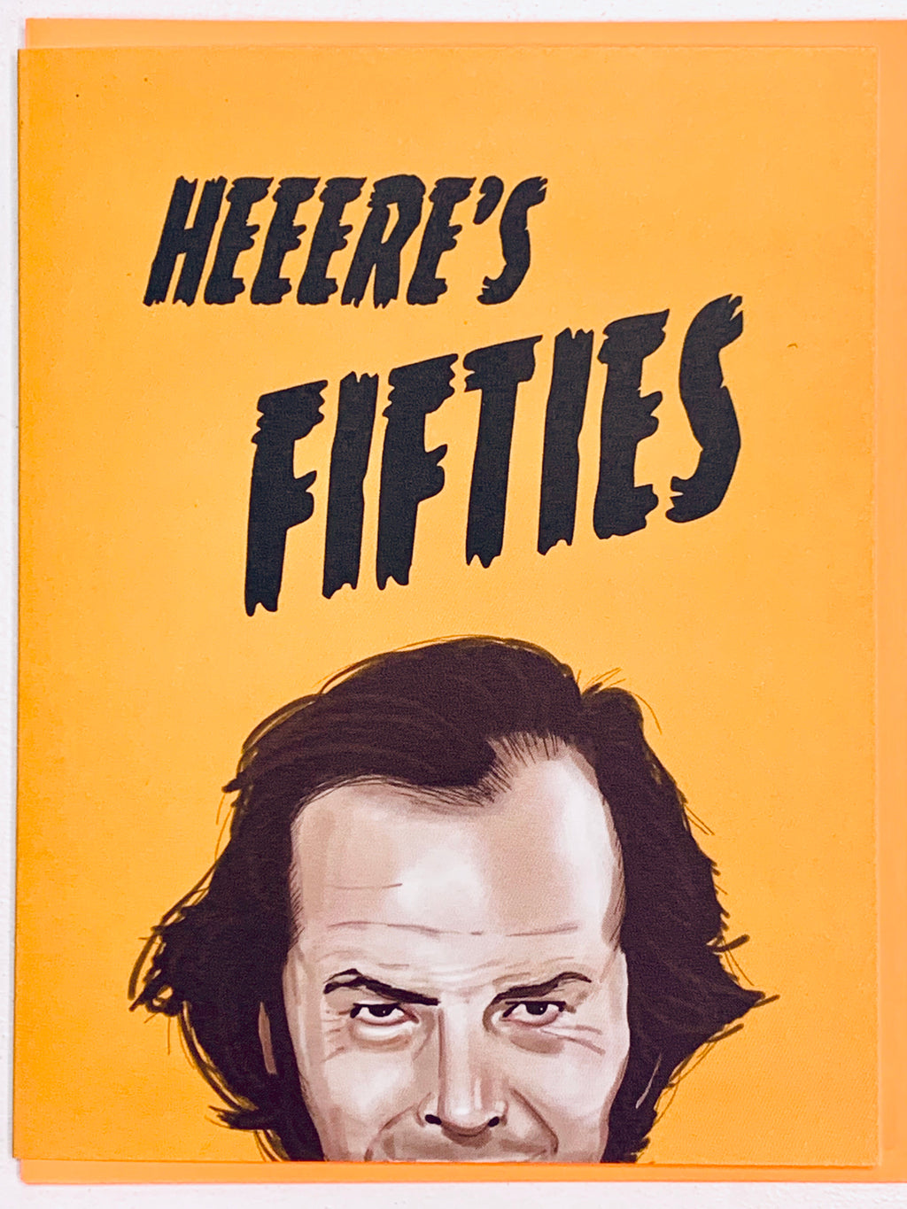Heeere's Fifties Card