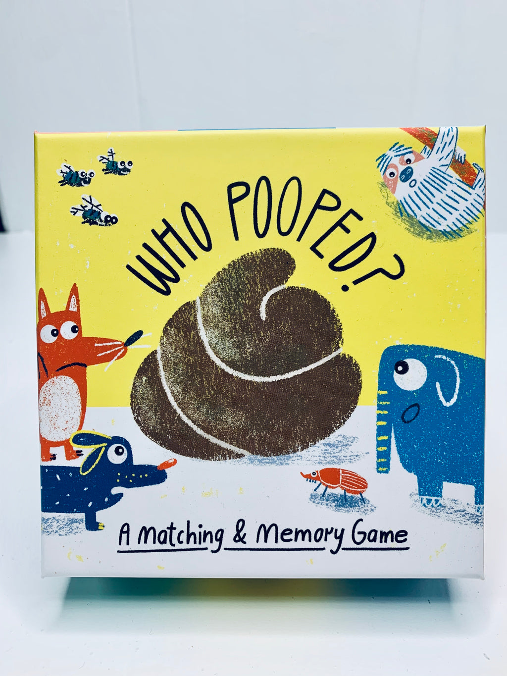 Who Pooped? A Matching & Memory Game