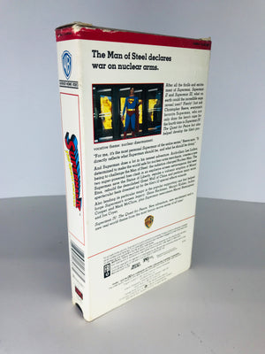 Superman 4 The Quest for Peace VHS