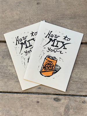 How To Mix Your Moxie Cocktail Book