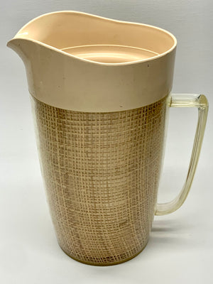 Wicker Pitcher