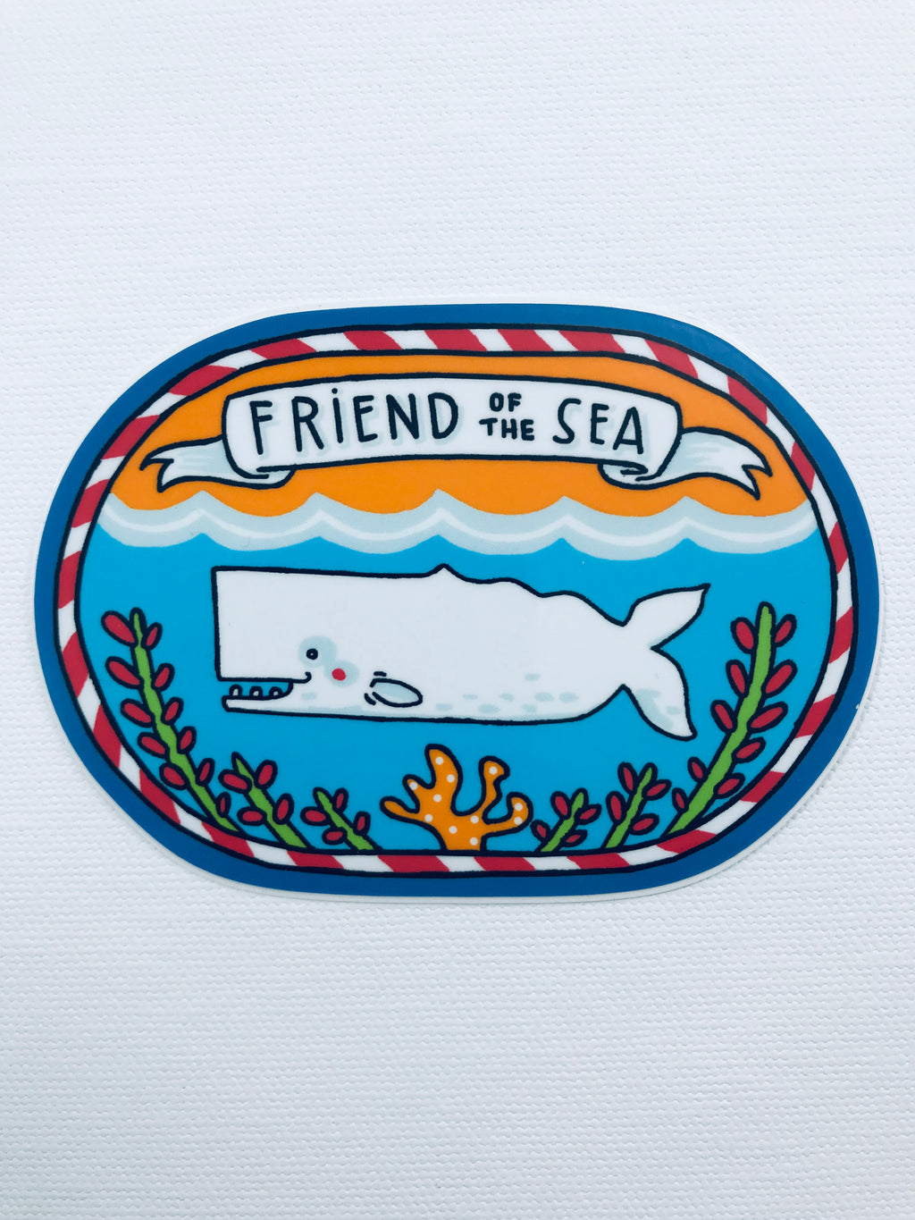 Friend of the Sea Sticker