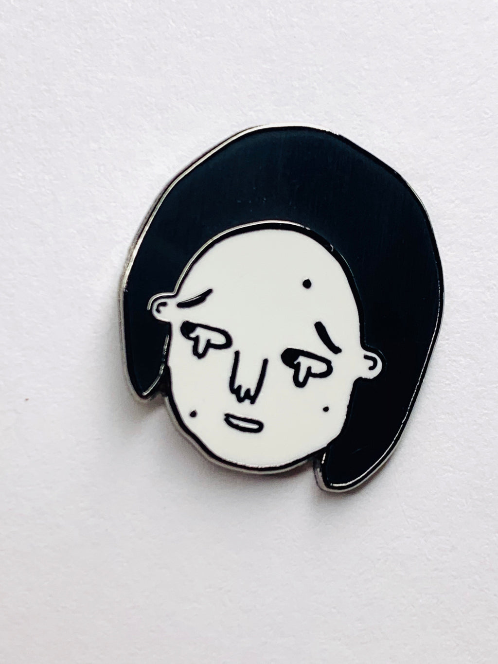 Disappointed Enamel Pin
