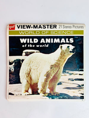 Wild Animals of the World Viewmaster Set