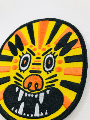 Lion Embroidered Patch