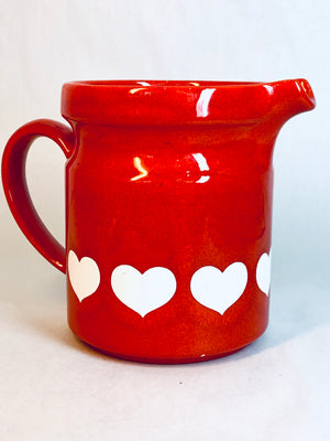 Waechtersbach Heart Pitcher