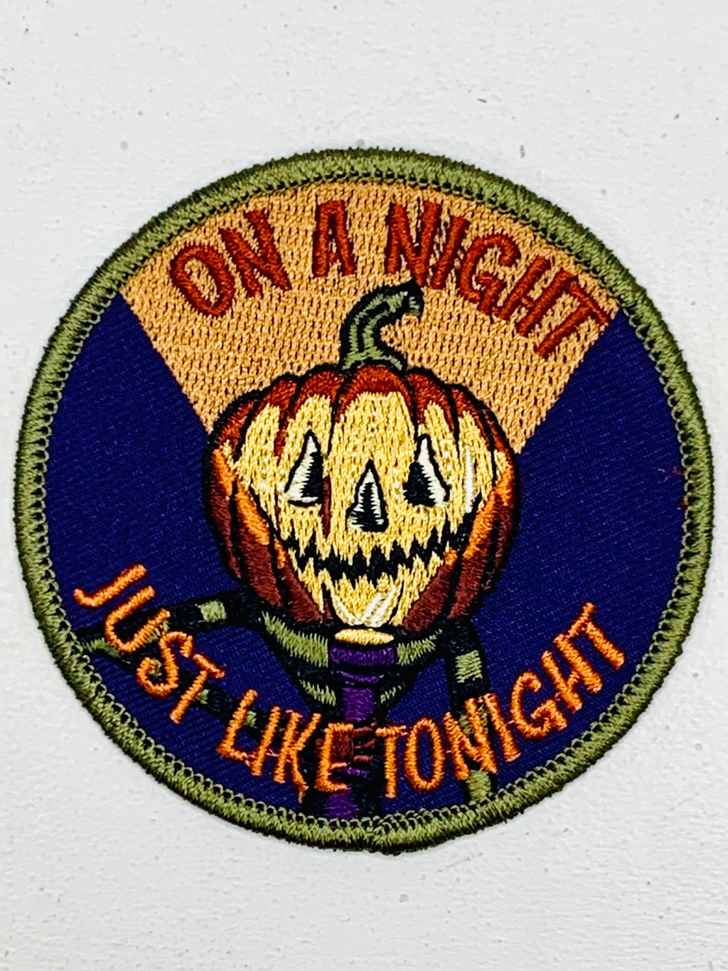 On A Night Just Like Tonight Embroidered Patch