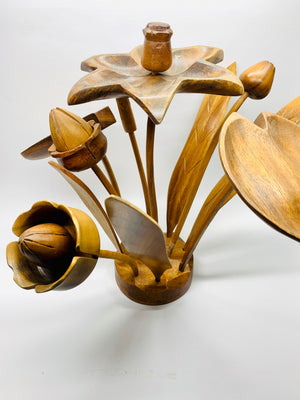 The Last of The 70's Wooden Flowers