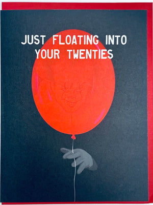 Just Floating Into Your Twenties Card